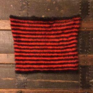 Red and Black tube top